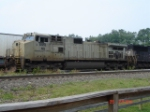 NS 9951 leads a WB Freight