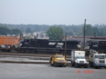 NS 9371 trails as the 3rd unit in WB NS 21J