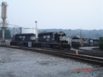 NS 3339, NS 3335, NS (ex.-CR) 7207 & NS 6780 sit at the Engine House