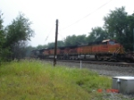 BNSF 5108, BNSF 4771 & NS 7540 head WB