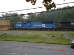 NS 6744 trails long hood forward EB on NS 24V