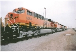 bnsf 6054 and BNSF 6056 at Lincoln motor works.