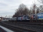 NJT GP40PH-2 4112 pushes a 3-car train