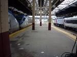 Raritan Valley train and Amtrak Silver Service