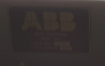 ABB build plate on ALP44 4431