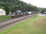Westbound NS ethanol train