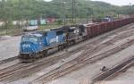 Eastbound empty Herzog ballast train