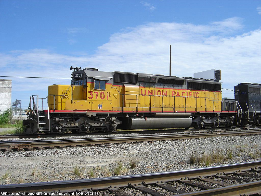 OLD SOLDIER UP SD40-2R 3701