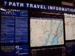 PATH information center, 33 Street station