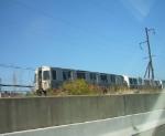 PA4 813 trails a Newark train