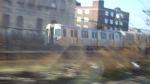 PA4 830 leads a Newark-World Trade Center train