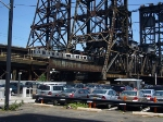 PATH train on Dock Bridge