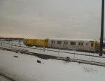 PATH PA4 work motor 827 & Locomotive L1