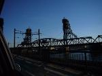PATH's Hackensack River lift bridge