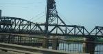 Newark train on the Hack lift bridge
