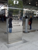 PATH World Trade Center sign