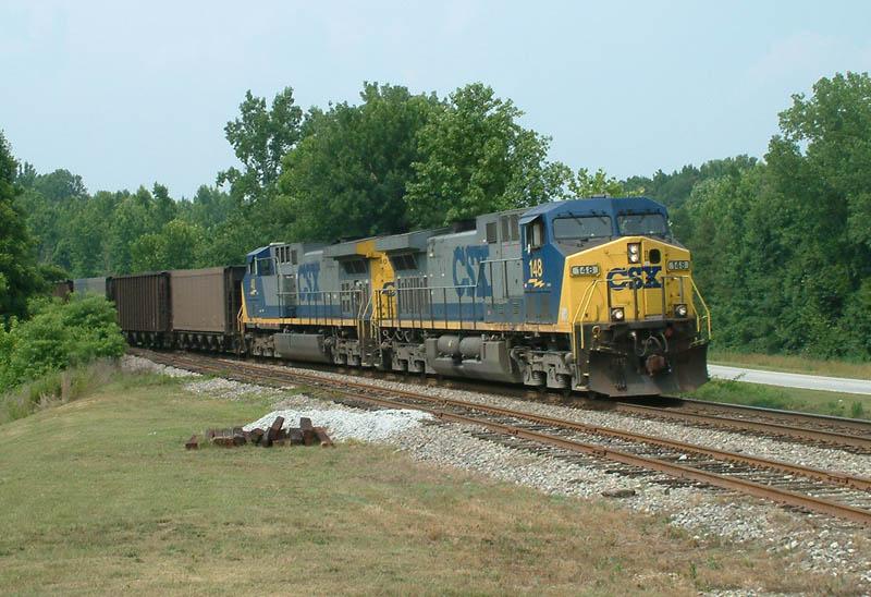 CSX Train N152-27