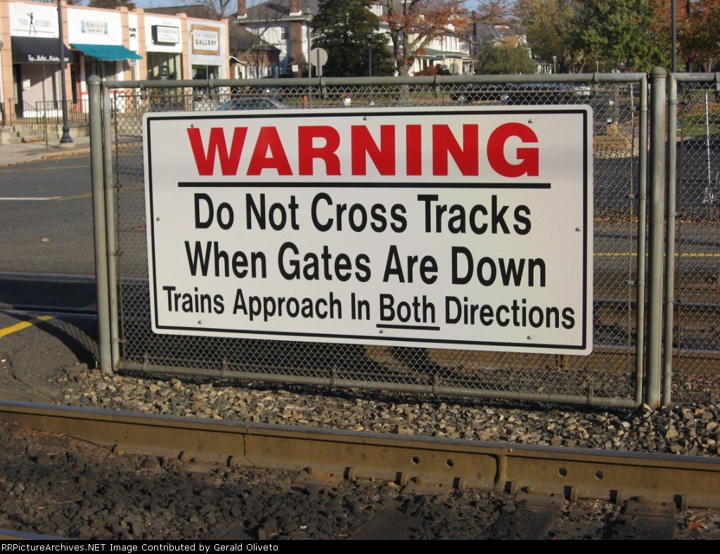 Pedestrian Warning