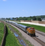 BNSF Employee Appreciation Special Westbound