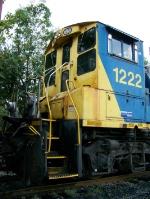 CSX 1222 (Cab detail)