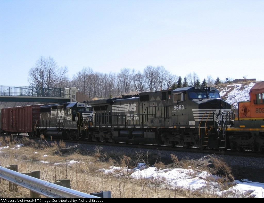 NS 9683 And NS 3034