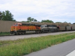 BNSF 5747 And Former BN Unit 9538