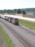 BNSF Dash Nine and FURX Forty Two