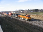 Container Train passing Bandana Square