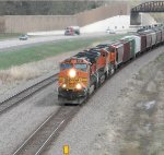A National Train Day BNSF westbound