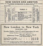 1937 NH Amston Timetable