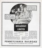 1935 PRR Broadway Limited Promo