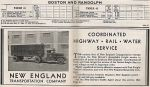 1937 NH Randolph Timetable