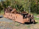 Battery-Operated Mine Locomotive