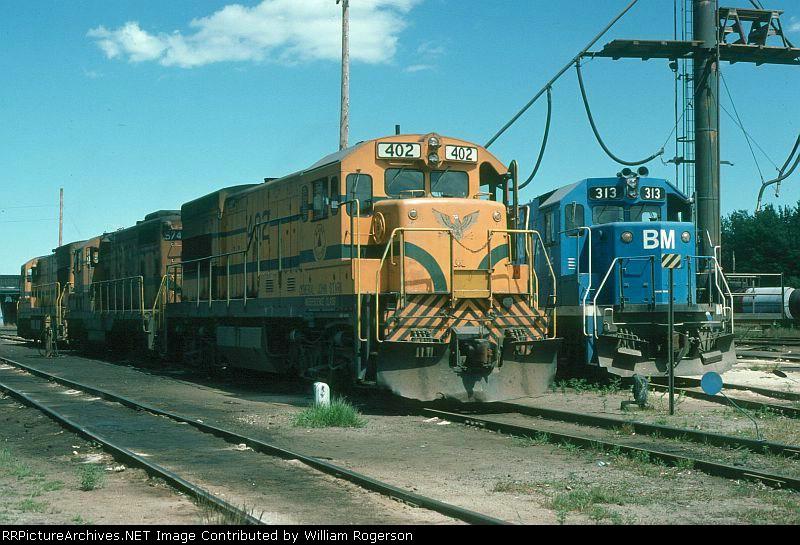 "Maine Central Railroad GE ""Independence Class"" U18B No. 402, ""General John Stark"""