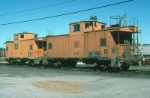 Maine Central Railroad Cabooses No. 655 and 656