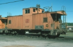 Maine Central Railroad Caboose No. 656