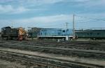 Boston and Maine Railroad (BM) EMD GP7 No. 1570 and Portland Terminal Railroad (PTM) Alco S4 No. 1057