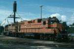 Maine Central Railroad (MEC) EMD GP38's No. 252 and No. 254