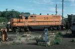 Maine Central Railroad (MEC) EMD GP7 No. 591