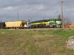 M & B getting their train ready