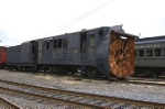 Long Island Railway Rotary SnowPlow #193 with Pennsylvania Railroad tender that replaced the original  wood frame tender