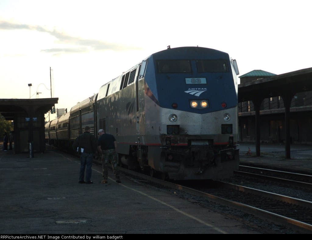 Amtrak lakeshore limted