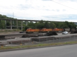 BNSF Coal Empties at Old Union Depot Jct.