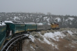 Santa Fe Southern in the Snow