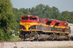 Kansas City Southern Railway (KCS) EMD SD70ASe's No. 3998 and No. 4059