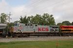 Kansas City Southern Railway (KCS) GE AC44CW No. 4595