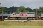 Kansas City Southern Railway (KCS) EMD SD40-2 No. 647