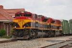 Kansas City Southern Railway (KCS) EMD SD70ACe's No. 3998 and No. 4059