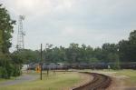 Northbound Kansas City Southern Railway Mixed Freight Train