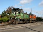 BNSF 3604 and BNSF 3613